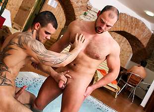 Anal Action At The Spa